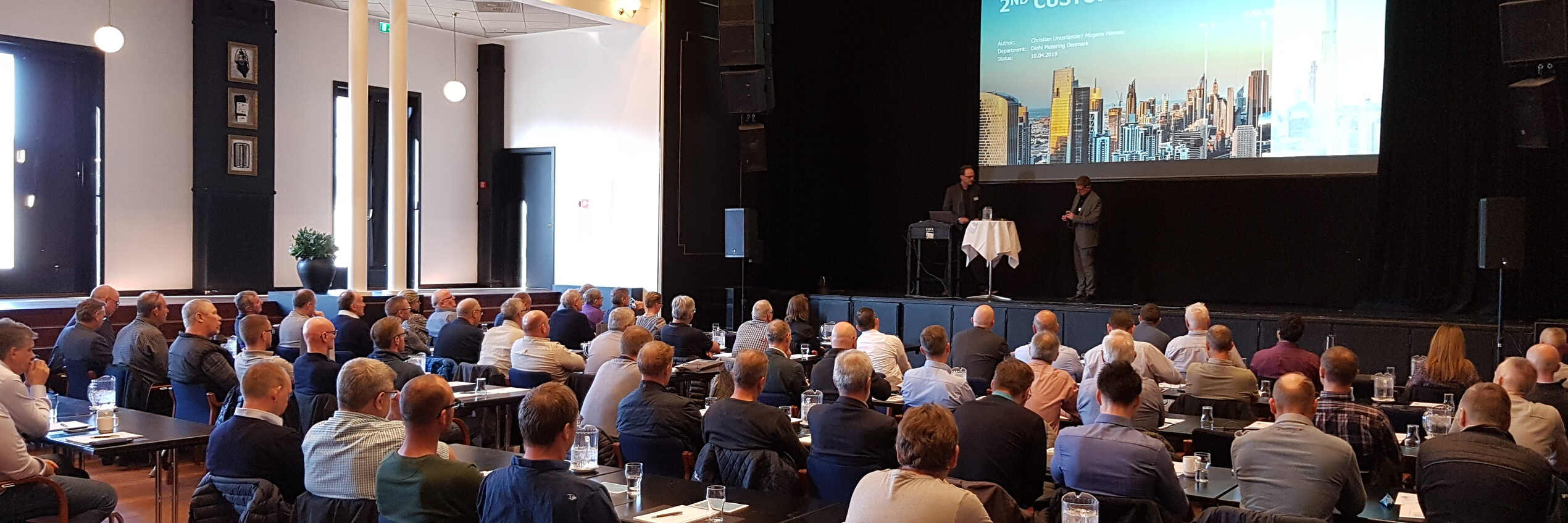 Diehl Metering Customer Day: Second edition of our in-house exhibition in Denmark