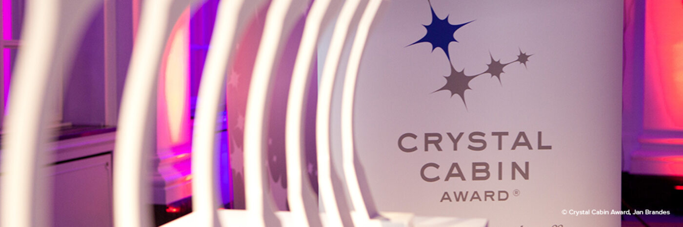 Two Diehl Aviation finalists competing for the Crystal Cabin Awards 2020