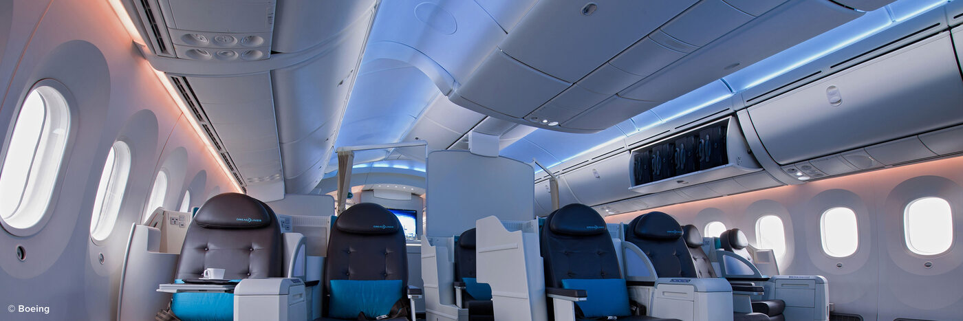 Diehl secures contract extension for delivery of interior lighting system for Boeing 787 Dreamlines