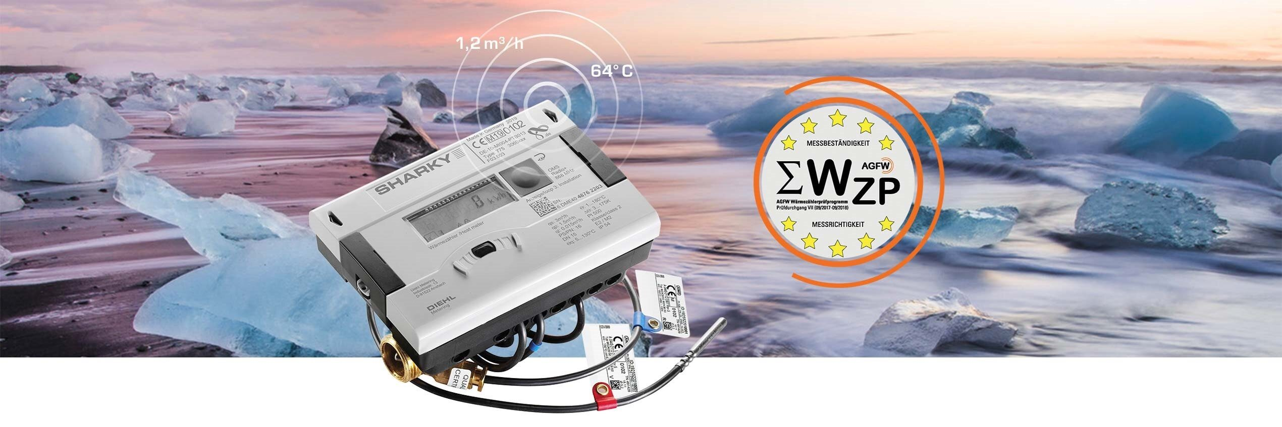 SHARKY: a smart ultrasonic meter founded on 5-star quality