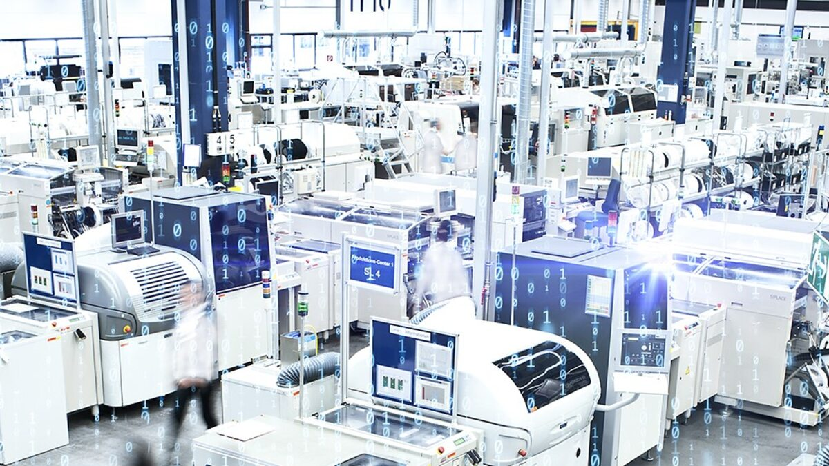 View into the production of electronic systems