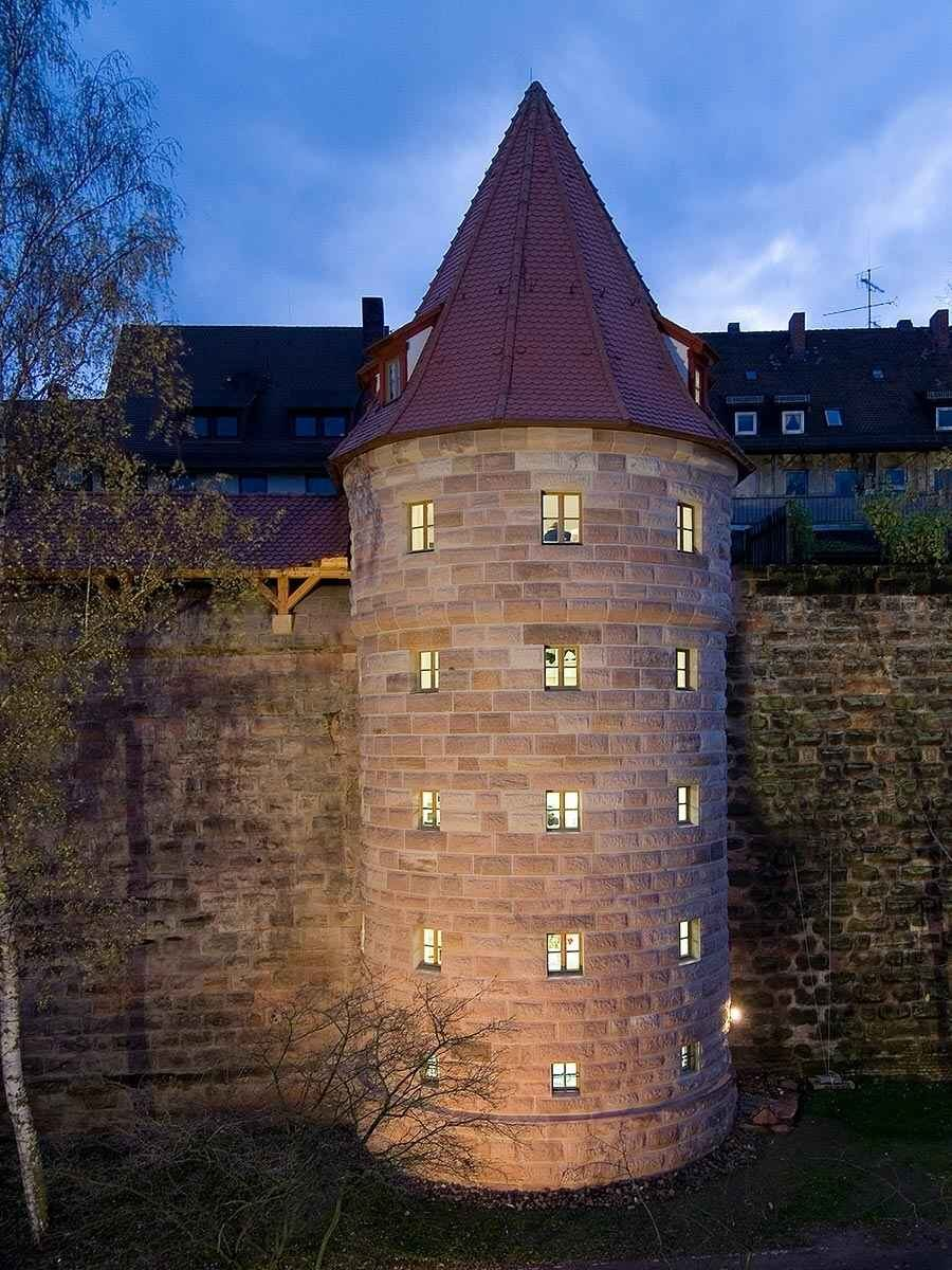 """Grabenturm"" Tower of Nürnberg's City Wall"