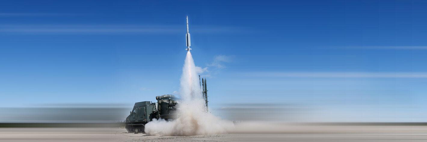 Elde 98 (IRIS-T SLS firing, Vidsel 2020)