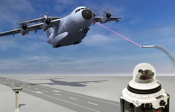 Laser protection for Bundeswehr´s transport aircraft