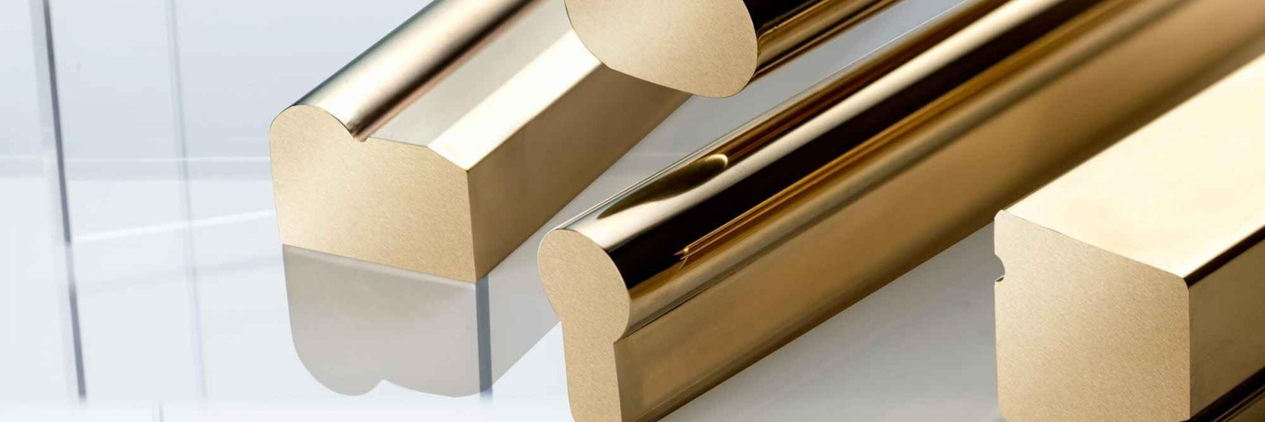 Brass materials in customer-specific dimensions