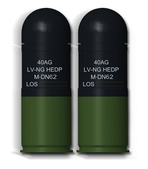 New Ammunition Family doubles range of 40 mm Grenade Weapons