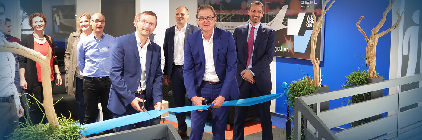 Diehl Aviation inaugurates new On-Site-Support Facility in Toulouse (France)