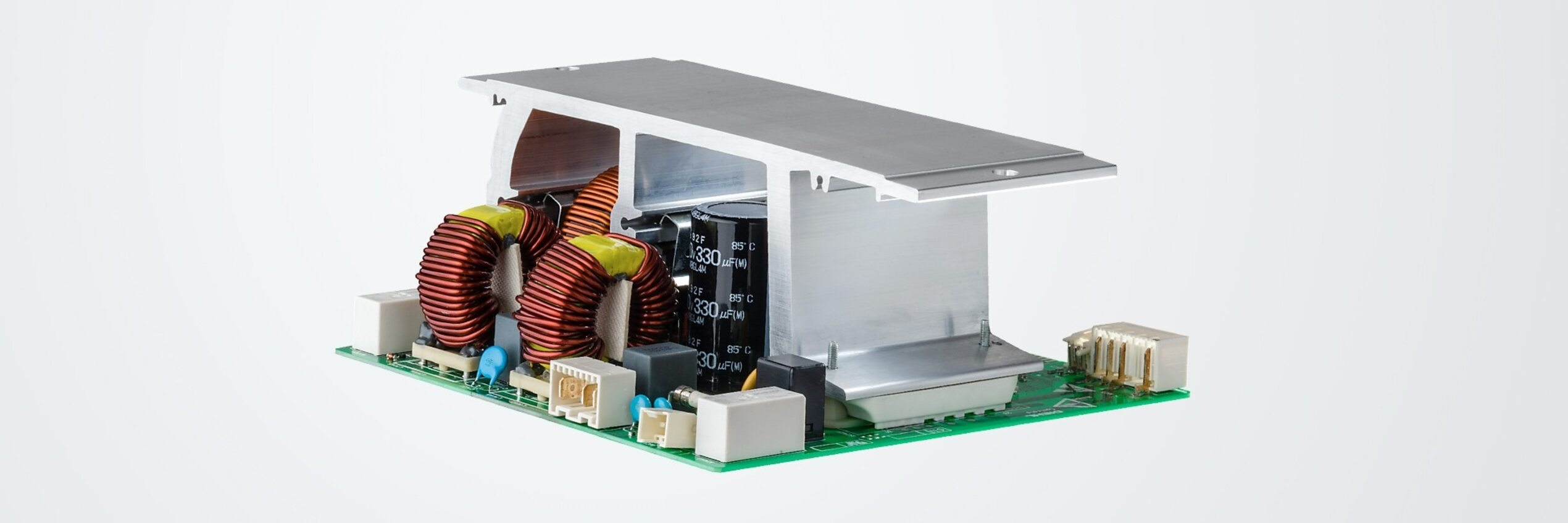 Inverter for pump control with active PFC