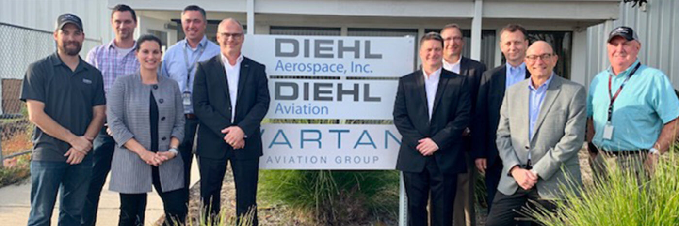 Diehl Aviation expands Charleston-based services by inaugurating warehousing and kitting for Boeing-Bound shipsets
