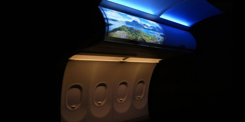 Projection Enabled Flight Experience