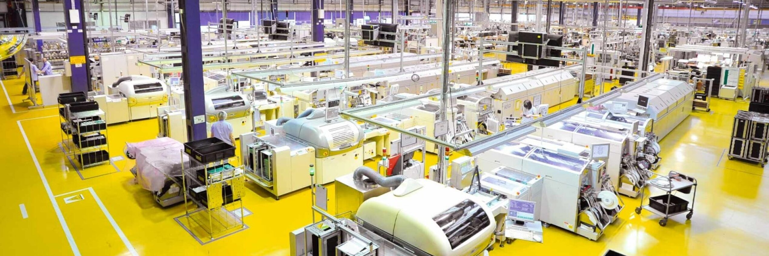 View into the production of Diehl Controls in Namyslow