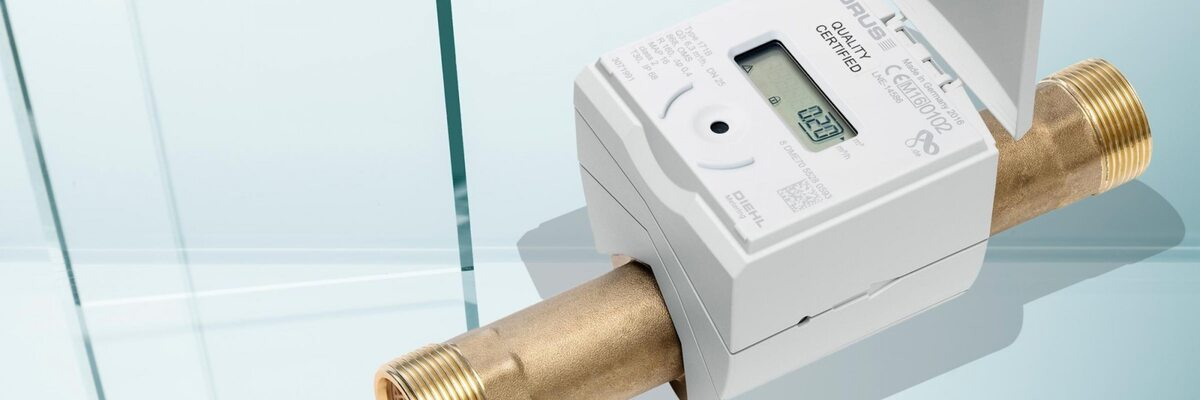Fixed Network with ultrasonic water meters for automatic reading