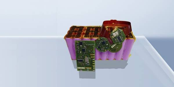 Battery management system with extreme low power consumption