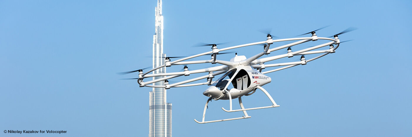 Contract with Volocopter marks Diehl Aviation's entry into market for Urban Air Mobility  (UAM)
