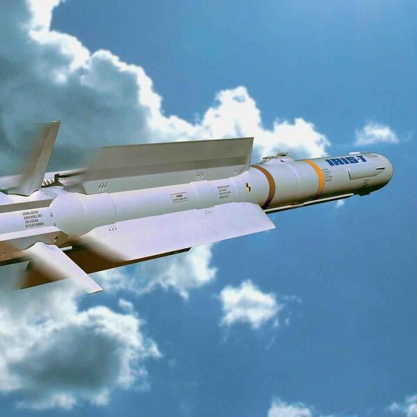 Diehl wins series contract for the IRIS-T missile: